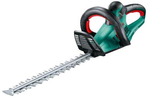 Bosch Home and Garden 0600847E00 Bosch Cortasetos AHS 45-26, 550 W, negro/verde, Espada de 45 cm