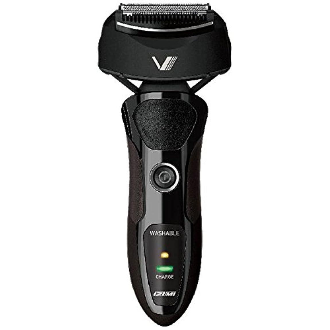 アシュリータファーマンはっきりと実現可能IZUMI VIDAN 往復式シェーバー 深剃りシリーズ 3枚刃 ブラック IZF-V36-K
