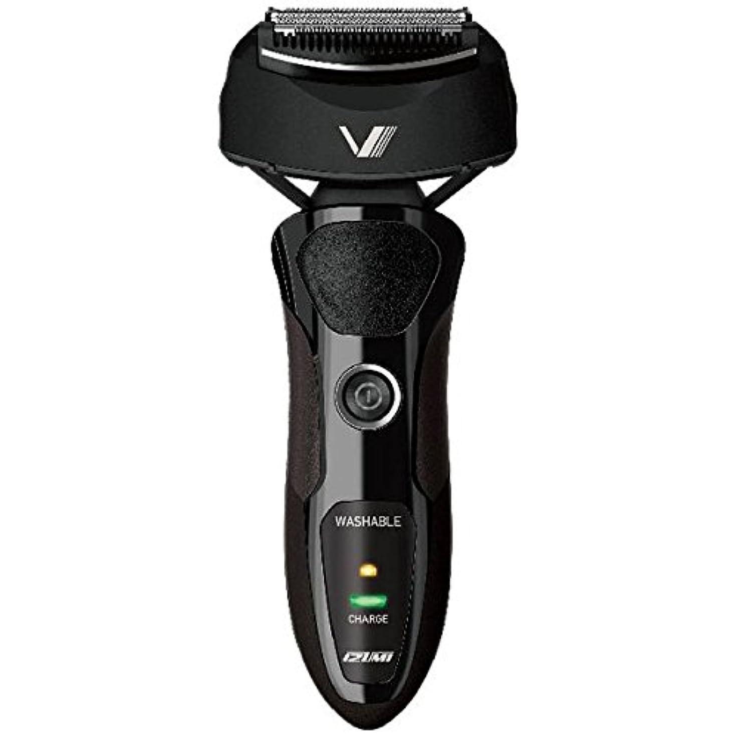 フォルダ知り合いになるピービッシュIZUMI VIDAN 往復式シェーバー 深剃りシリーズ 3枚刃 ブラック IZF-V36-K