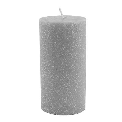 Root Timberline Pillar Candle, Platinum, 3 x 6