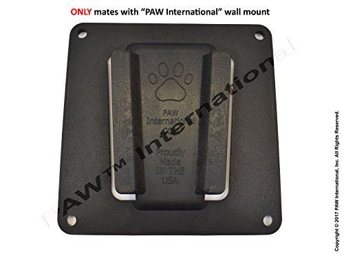 PAW International RV TV Bracket (Polymer) - Single TV Mount, Black