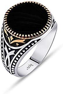 خاتم فضة 925من عتيق للرجال ، Atiq090-03-10