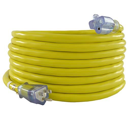 Conntek 20261-100 15 Amp Extension Cord, 100 Feet, UL Listed