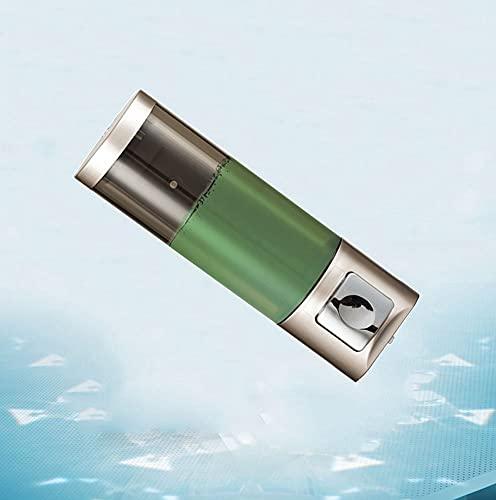 TBSHX Dispensador de Gel hidroalcoholico, dispensador jabon baño Pared Dispensador de jabón líquido Pared, Prueba de Agua,Cocina y baño del hogar(Oro) (Color : Punch-Free)