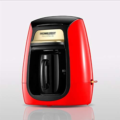 LCZ Tragbare Automatische Tropfkaffeekanne, Kaffeemaschine Teefilter Amerika Stil Automatische Hausstelle Elektrische Einzelne Keramikschale Schleifen,A
