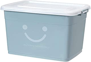 PPCP Storage Box Plastic Clothes Storage Box Thickening Storage Box (Color : Gray)