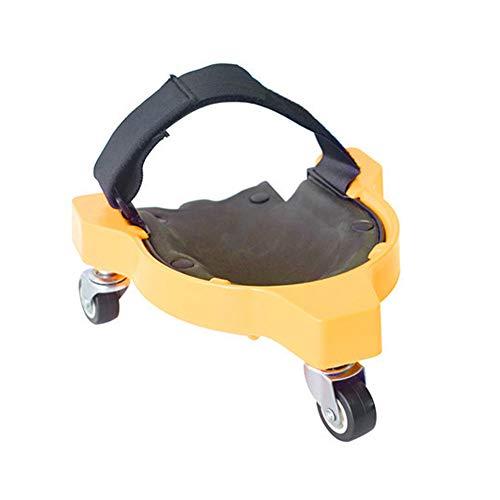 DIYARTS Multifunktionale Knieschoner für Knieschoner mit integriertem gepolstertem Schaumstoff für Training Workout Bauarbeit Knieschoner (Gelb)