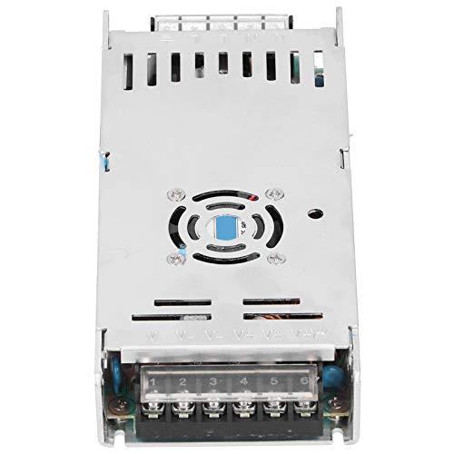 Fuente de alimentación de 12 V, entrada de CA 170-250 V, convertidor de potencia delgado de 360 W con buena disipación de calor para cámaras de tiras LED