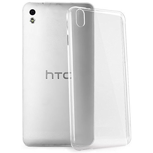 2010KHARDIO AE Crystal Clear Transparent Hard Back Case Cover for HTC Desire 816G Dual Sim