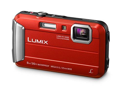 Panasonic Lumix Dmc-Ft30Eb-R Underwater Action Camera