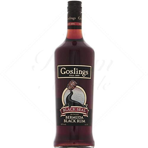 Goslings Black Seal, Bermuda Black Rum 40%, 1,0 Liter Flasche