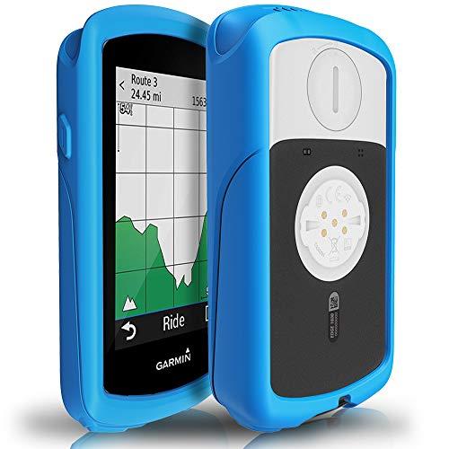 TUSITA Hoesje voor Garmin Edge 1030 - Siliconen Bescherming Hoes Beschermhoes Huid - GPS Fietscomputer Accessoires