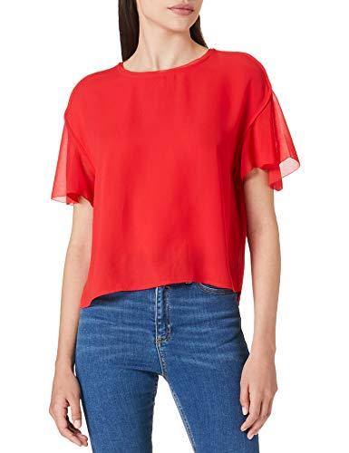 Pepe Jeans GEOVANNA Blusa, 244marzo Red, M para Mujer