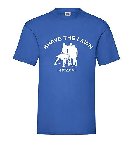 Shirtzshop Schirispray est 2014 - Camiseta para hombre azul real XL
