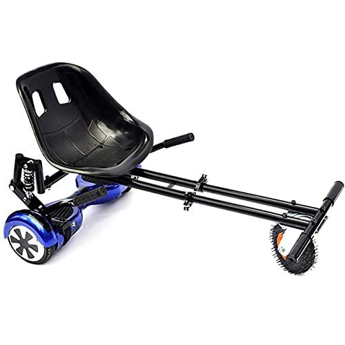 Go Kart para Scooter Eléctrico Hoverkart Asiento De Carro Autoequilibrado con Diseño De Doble Barra Y Doble Amortiguador Compatible, con Tablero De Equilibrio Clásico De 6.5'/ 8.5' / 10'