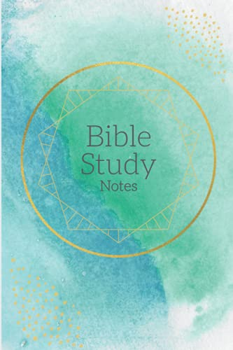 Bible Study Notes: A Notebook to Organize Your Favorite Verses from the Bible.