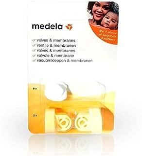 Medela 800.0727 - Válvulas y membranas para sacaleches