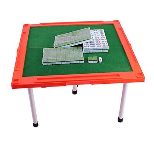 YBWEN Mahjong Mini Mah-Jongg met opvouwbare tafel Majiang Travel Set Professionele Chinese Mahjong Set Bordspel