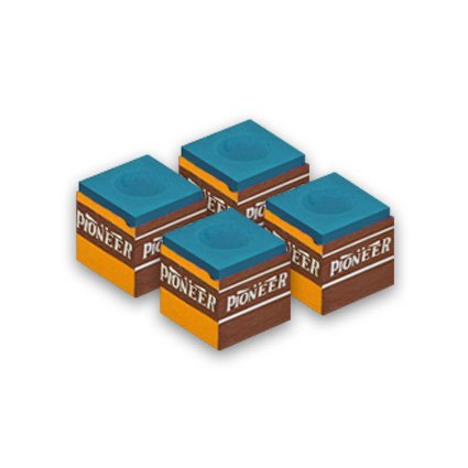 Pioneer Billard Kreide Blau 4 Stück
