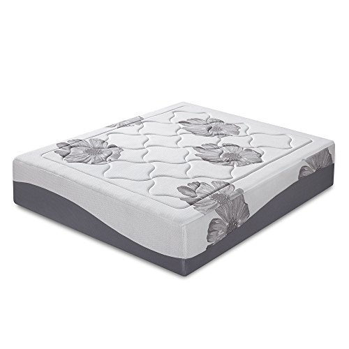 Olee Sleep 12 Inch I Gel Top Tencel Memory Foam Mattress