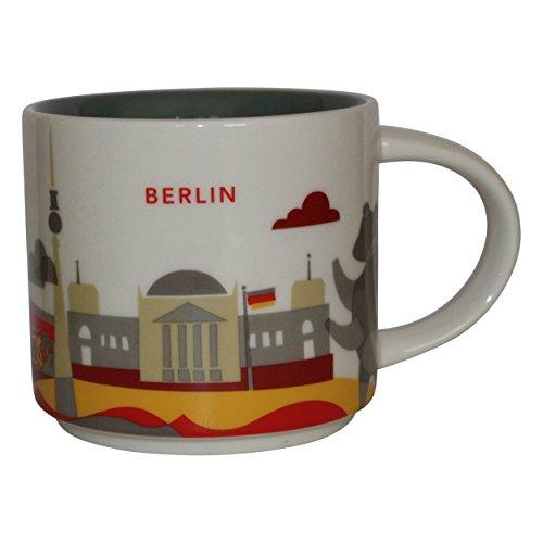 Starbucks City Mug You are Here Collection - Taza de café de Berlín