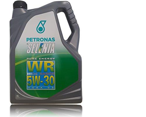 SELENIA OLIO MOTORE PETRONAS WR 5W30 WIDE RANGE PURE ENERGY, LT.5