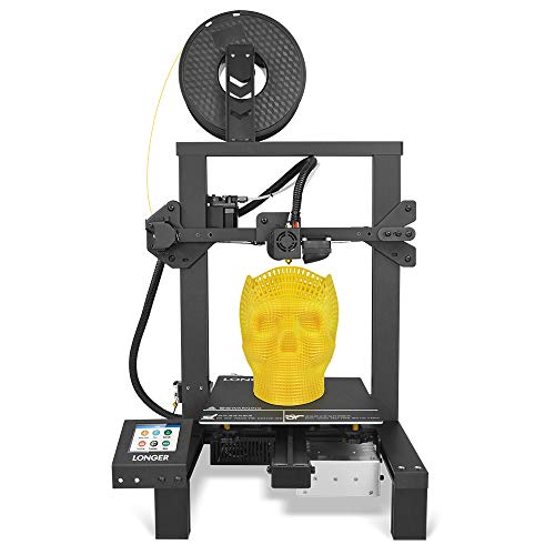 LONGER LK4 3D Printer 90% Pre-Assembled with 2.8' Full Color Touch Screen, Resume Printing, Filament Detector, Built-in Safety Power Supply 220x220x250mm