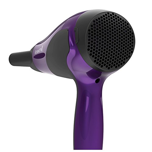 Remington D3190 Damage Protection Hair Dryer with Ceramic + Ionic + Tourmaline Technology, Purple