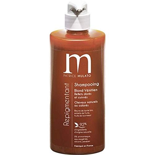 Shampooing repigmentant Blond Vénitien 500ml Mulato