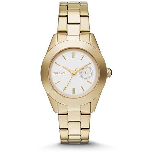 Reloj Dkny Donna Karan Jitney Ny2132 Mujer Blanco