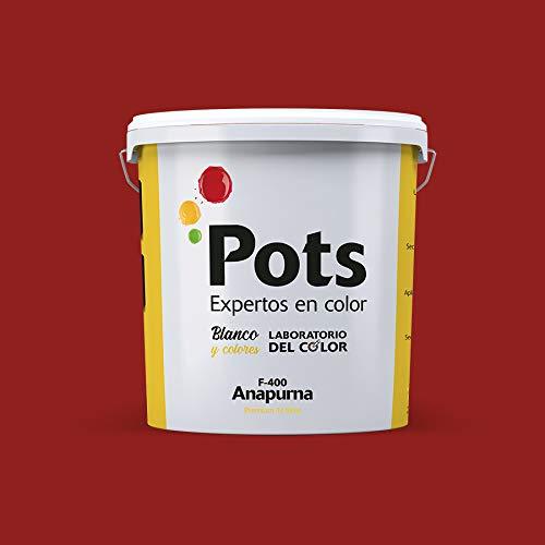 Pintura de fachadas Premium Anapurna F-400 (Rojo inglés 415, 12 litros)