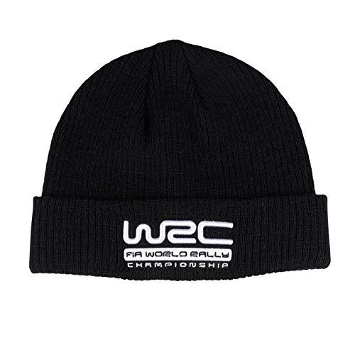 Gorro de lana negra del Campeonato Mundial de Rallyes del WRC