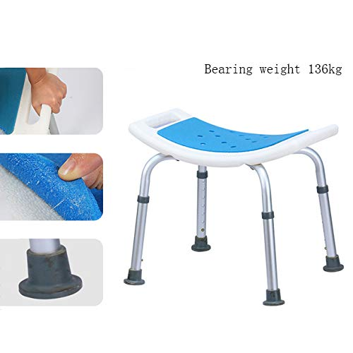 Douchebank douchecabine met gewatteerde zitting - douchestoel voor senioren stoel voor ouderen, Handicap Tub douchestoelen voor volwassenen