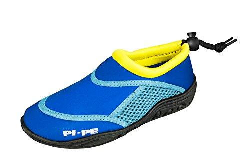 PI-PE Active Badeschuhe Aqua Shoes Damen Herren Schwimmschuhe Strandschuhe (Tricolor, 41)