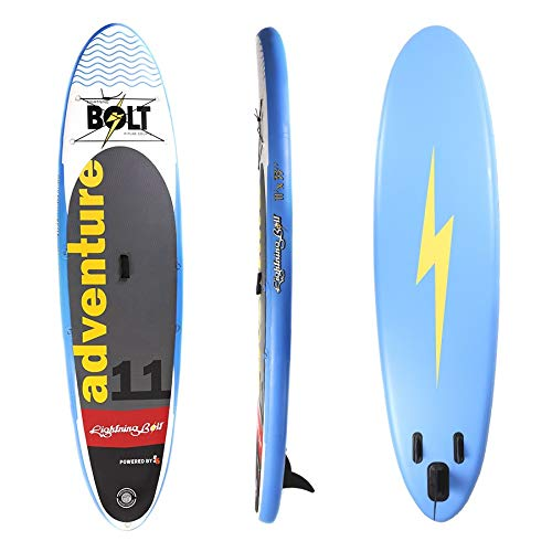 Kit Stand Up Inflável Lightning Bolt Explorer Azul 11 pés