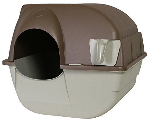 Omega Paw Roll'n Clean Selbstreinigende Katzentoilette, GrößeL