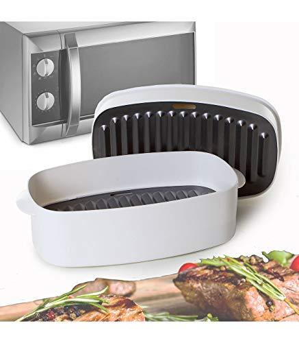 Plat spécial grillade pour micro-ondes