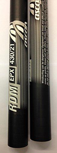 surfshop24 Ascan Mast Windsurf RDM reduzierter Durchmesser Epoxy Neu! (400 Zentimeter)