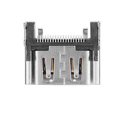Bewinner HDMI-poort socket interface voor PS4 Pro-2000, reserveonderdeel voor PS4, ter vervanging van de beschadigde PS4 HDMI-poort, nauwkeurige ontwerp-stabiele output