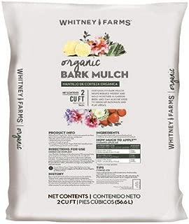 Scotts Organic Group 10101-87901 Whitney Farm 2 CUFT Organic Bark Mulch