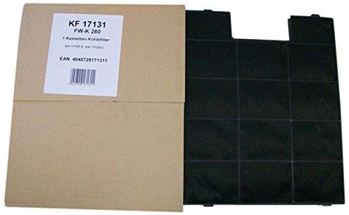 Amica Kohlefilter KF 17131 Filter, schwarz