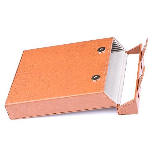 NiSi Filtertasche für 150mm breite Filter (6 Stück) aus Leder – kann verwendet Werden für 150mm Filter von NiSi, Lee, Haida, Hitech, Singh-Ray