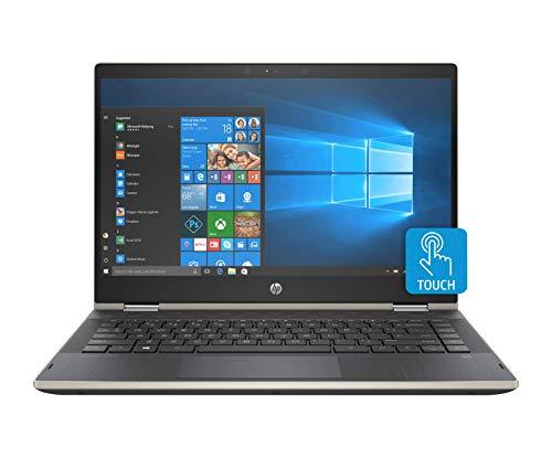 HP Pavilion x360 Convertible, Pantalla de 14' HD, Procesador Pentium 4415U, 8GB RAM, 128GB SSD, Sistema operativo Windows 10, Color Pale Gold (14-cd0024la)