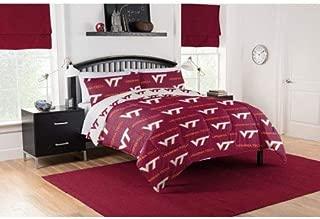 Official Virginia Tech Hokies Queen Bed in Bag Set