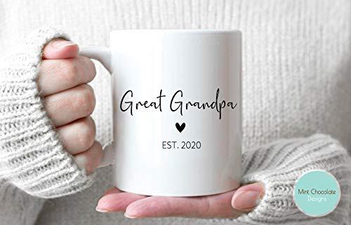 Great Grandpa - Pregnancy Announcement, Pregnancy Reveal, New Great Grandpa Gift, New Baby Announcement, Baby Reveal, New Grandpa Gift