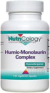 NutriCology Humic -Monolaurin Complex 120 Vegetarian Capsules