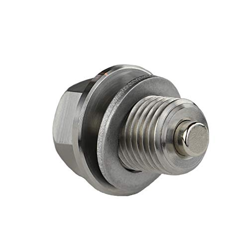 Votex - DP001 Stainless Steel Oil Drain Plug with Neodymium Magnet (M14 x 1.5 MM) - MADE IN USA