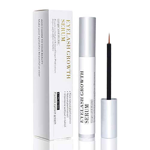 Vanecl Best Natural Eyelash Growth Serum,Brow & Lash Enhancing Formula & Rapid Brow Growing Treatment for Longer, Thick And Strong Lashes 5ML