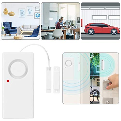 Cuque Alarma de Sensor magnético, Alarma magnética, optimización de Circuito electrónico Excelente Seguridad Banco de Garaje de Museo para supermercados