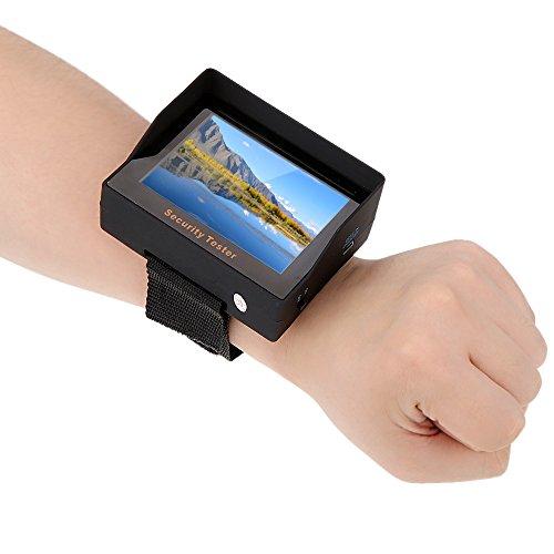 KKmoon Portable Mini Monitor 3,5 Zoll TFT Farbe LED CCTV Kamera Sicherheit Überwachung Tester Audio Video Eingang für Überwachung, CCTV Kamera, Überwachungssystem